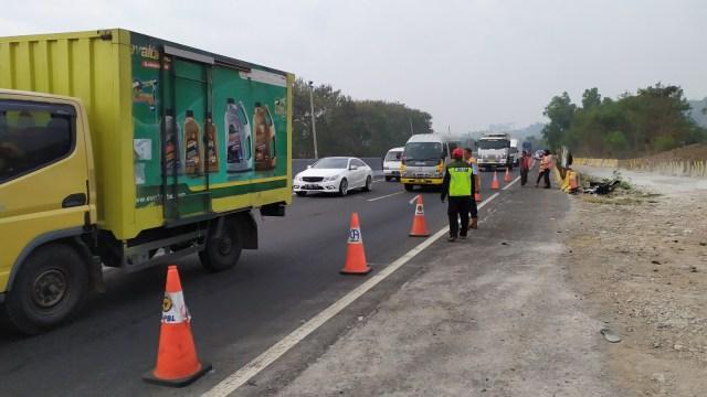 Polda Jabar Kaji Aspek Keselamatan di Ruas Tol Cipularang KM 91 (304959)