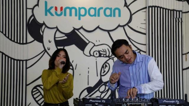 Foto: Ngobrol Bareng Dipha Barus dan Monica Karina soal 'You Move Me' (243479)