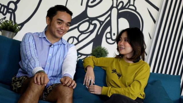 Foto: Ngobrol Bareng Dipha Barus dan Monica Karina soal 'You Move Me' (243480)