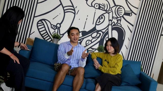 Foto: Ngobrol Bareng Dipha Barus dan Monica Karina soal 'You Move Me' (243481)
