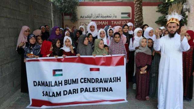 Foto: Warga Palestina Gelar Aksi dan Doa untuk Perdamaian Papua (49954)