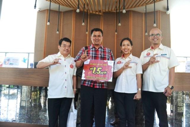 Hari Pelanggan Nasional, OHM Bagikan Tiket Pesawat Gratis ke Singapura (2357)