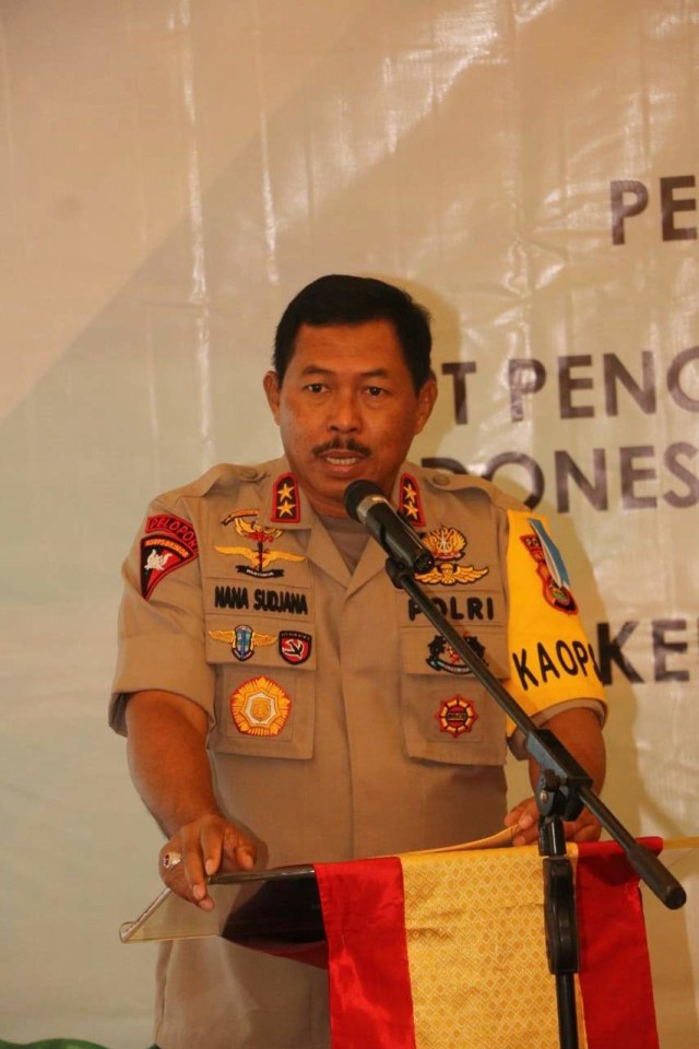 Kapolda NTB Irjen Pol Nana Sudjana, Indonesian Tourism Development Corporation (ITDC) (NOT COVER)
