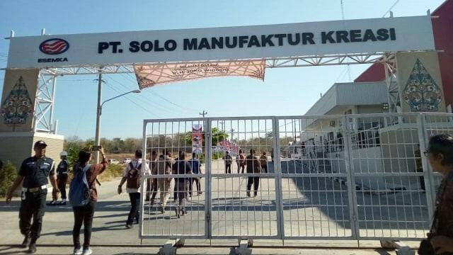 Presiden Jokowi kunjungi pabrik Esemka di Boyolali