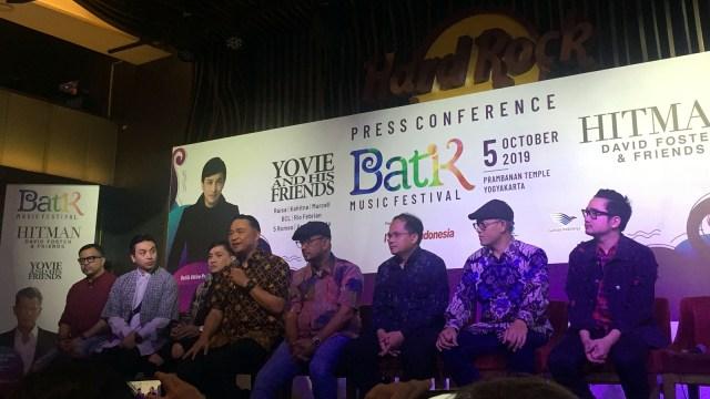 Anas Syahrul, preskon Batik Music Festival