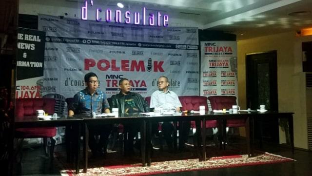 Diskusi Polemik MNC Trijaya tentang KPK adalah Koentji
