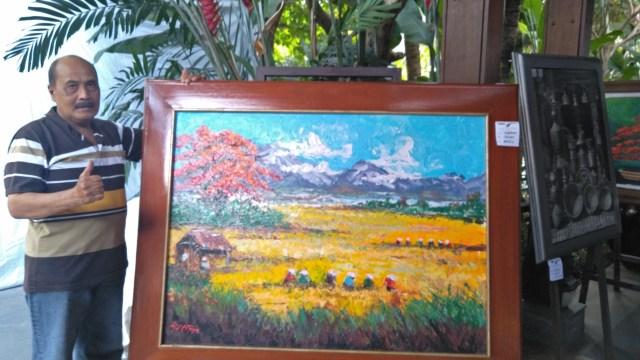 Melihat Keindahan 60 Lukisan di Pameran 'Art Menuju Kebersamaan'  (1239169)