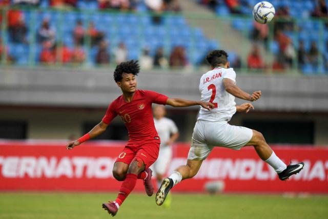 Timnas Indonesia U-19, timnas Iran U-19 (NOT COVER)