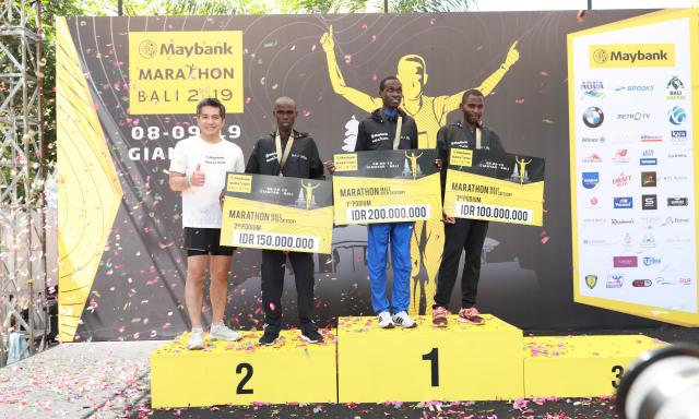 Pelari asal Afrika Dominasi Podium Maybank Marathon Bali 2019 (45534)