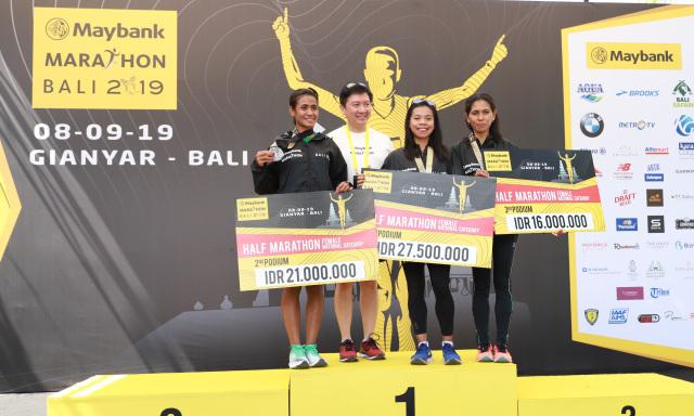 Pelari asal Afrika Dominasi Podium Maybank Marathon Bali 2019 (45535)