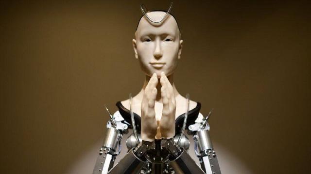 Robot Penyampai Ceramah Agama di Jepang (150985)