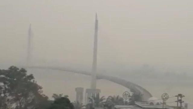 Kualitas Udara Berbahaya, Pemkot Jambi Kembali Liburkan Sekolah (38887)