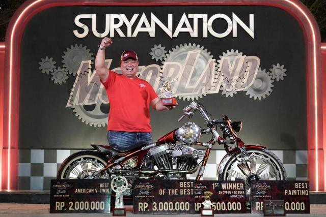 Modifikasi Harley-Davidson FXR: Lawas dan Berkelas (1502440)