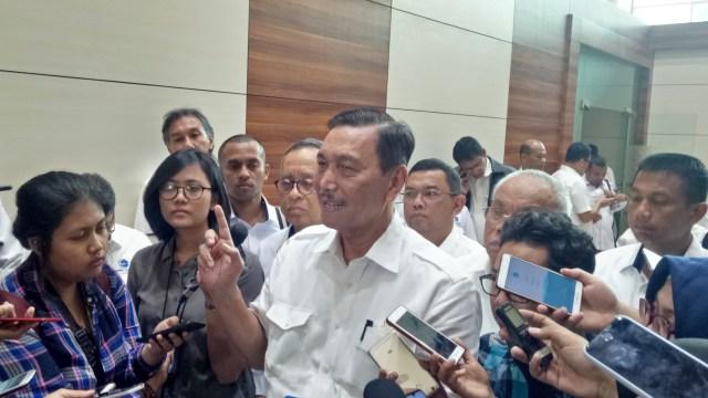 Luhut soal Kabinet II: Presiden Sudah Nimbang di Mana Paling Cocok (71525)