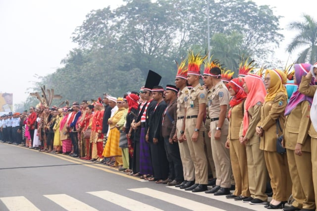 Foto: Doa Bersama dari Kalbar untuk Indonesia (58666)