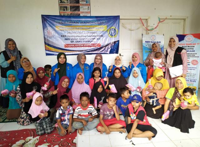 RUMAN Gelar Pelatihan Handycraft untuk Perempuan di Aceh Besar (67368)