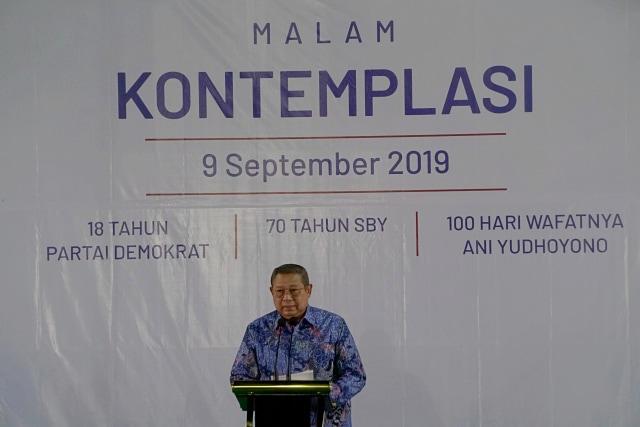 SBY Pidato Kontemplasi (NOT COVER)