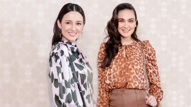Julie Estelle dan Luna Maya, fashion show Kate Spade Spring 2020 di New York Fashion Week
