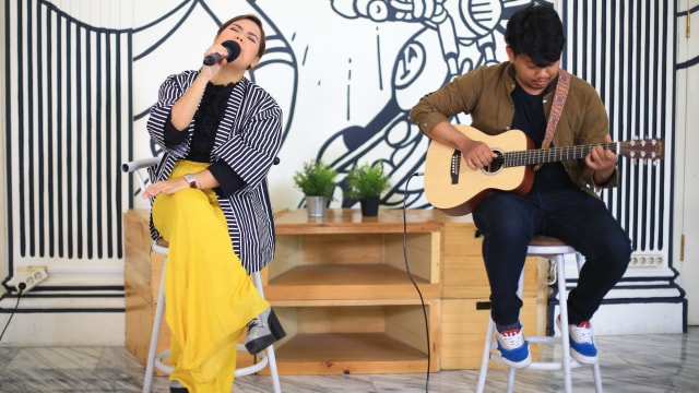 Foto: Mytha Lestari Promosi Single 'Kala' di kumparan (127456)