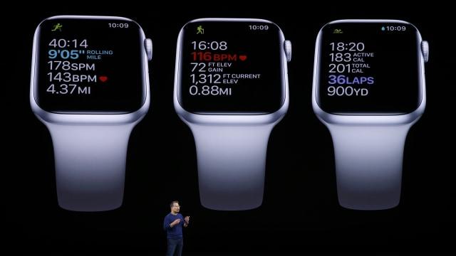 Salah satu eksekutif Apple, Stan Ng, menjelaskan fitur baru Apple Watch 5 Series