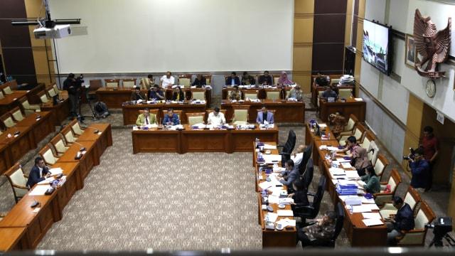 Calon Pimpinan Komisi Pemberantasan Korupsi (KPK), Nawawi Pomolango, fit and proper test di Komisi III DPR RI