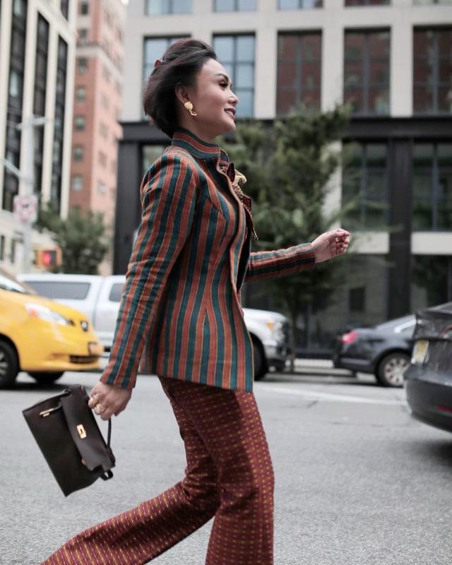 Yuni Shara di New York