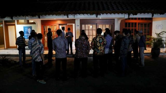 BJ Habibie Meninggal, kediaman BJ Habibie di Patra Kuningan, Jakarta