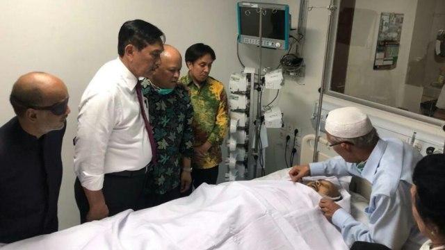 BJ Habibie Meninggal, Menteri Koordinator Bidang Kemaritiman, Luhut Binsar Panjaitan
