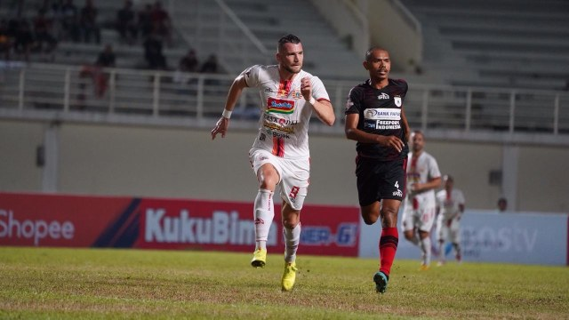 Laga tunda pekan ke-11 Liga 1 antara Persipura Jayapura vs Persija Jakarta, Stadion Aji Imbut