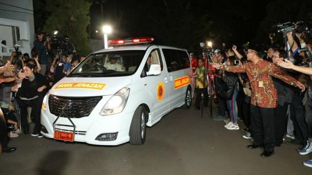 Ma'ruf Amin hingga Wiranto Melayat ke Rumah Duka BJ Habibie (91301)