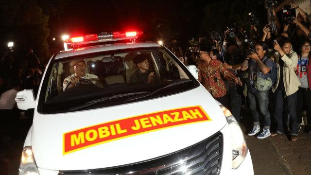 Ma'ruf Amin hingga Wiranto Melayat ke Rumah Duka BJ Habibie (91303)