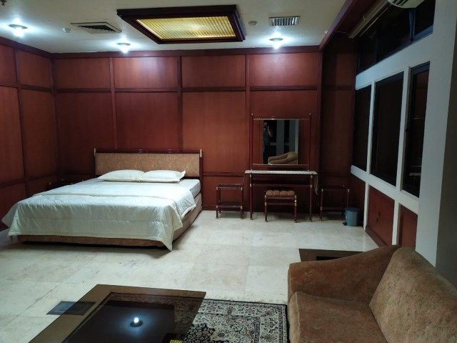 BJ Habibie Meninggal, Ruang istirahat BJ Habibie di Ops. Room Gedung Pusat Manajemen (GPM) PT Dirgantara Indonesia (DI)