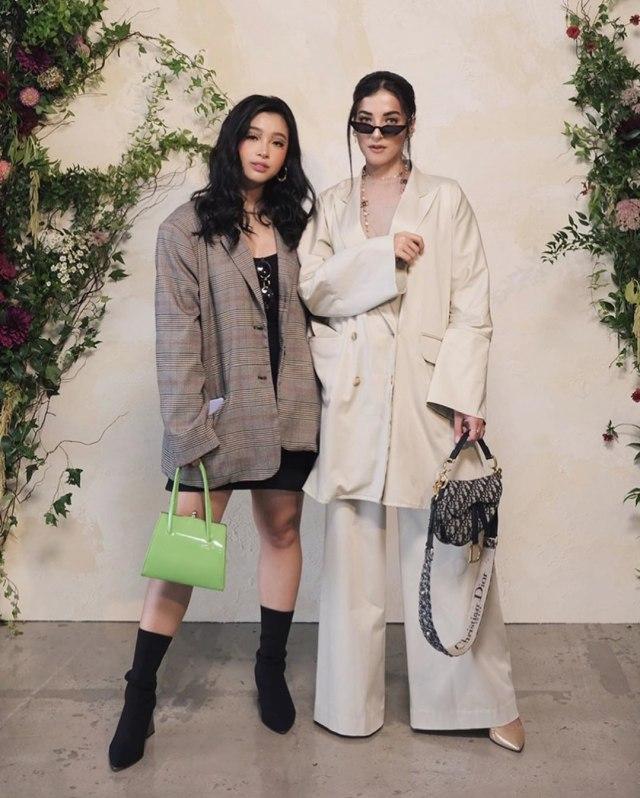 Tasya Farasya di New York Fashion Week