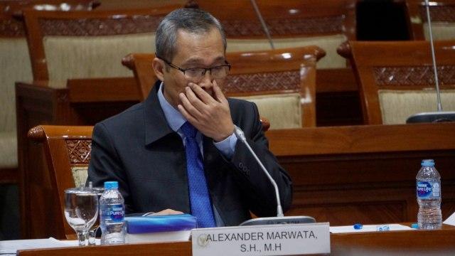 Calon Pimpinan KPK, Alexander Marwata