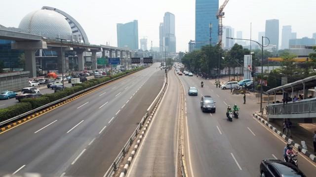 Tol dalam kota mulai di tutup
