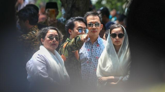 BJ Habibie meninggal, para tokoh di pemakaman BJ Habibie