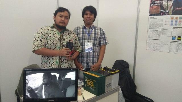 Mahasiswa ITB ciptakan alat Pendeteksi Kondisi Aki Kendaraan.
