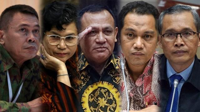 Jokowi Resmi Lantik Pimpinan KPK Periode 2019-2023 (307464)