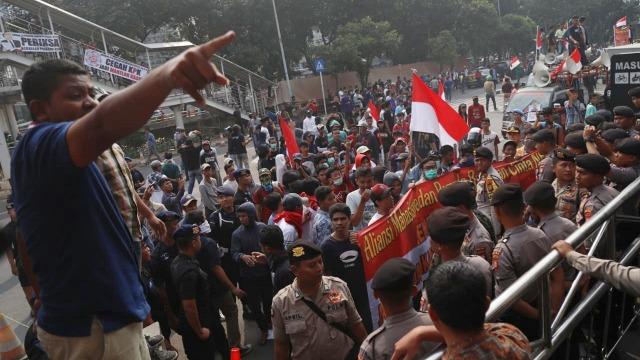 Kerusuhan Gedung KPK, Kuningan Jakarta Selatan