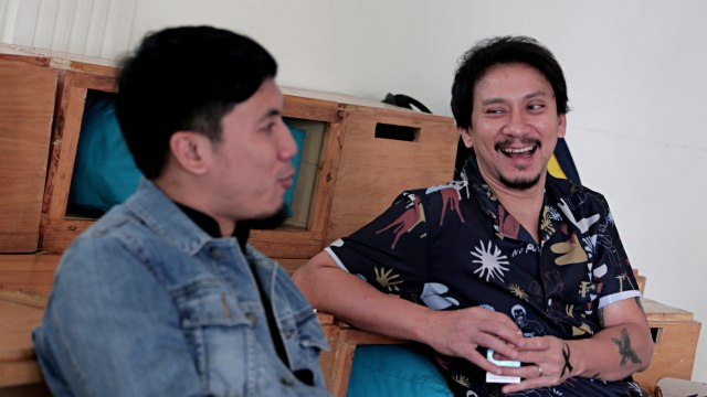 Foto: Berbincang Bersama Vincent dan Desta soal Film 'Pretty Boys' (1036092)
