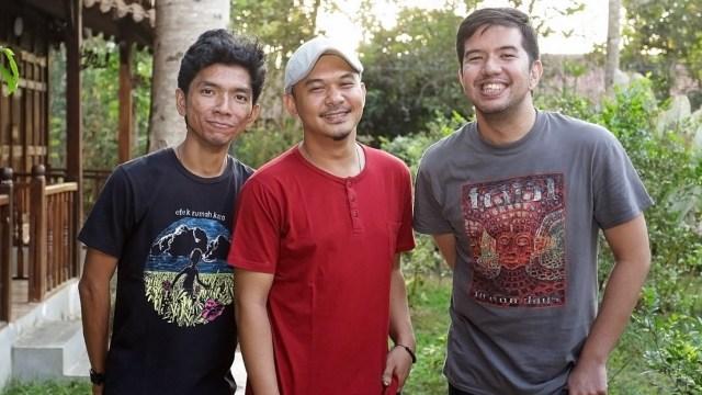 Personel Payung Teduh ditemui di Balkondes Ngaran, Borobudur
