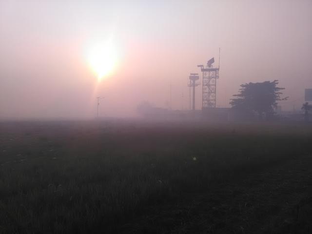 Imbas Karhutla: Penerbangan di Kalsel Kacau, Pesawat Tak Bisa Mendarat (851785)