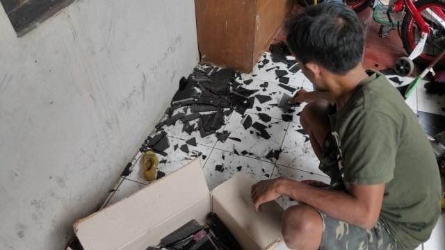 Ledakan Gudang di Mako Brimob Semarang, Kondisi rumah warga