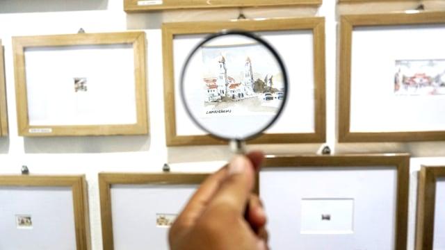 Foto: Menikmati Karya Seni di Pameran Sketsaforia Urban (53965)
