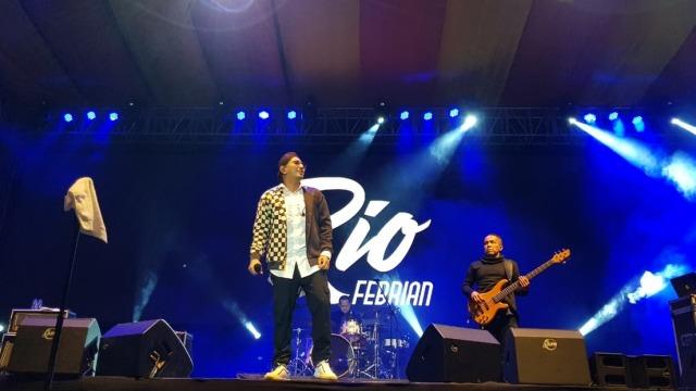 Penampilan Rio Febrian di Balkonjazz Festival 2019