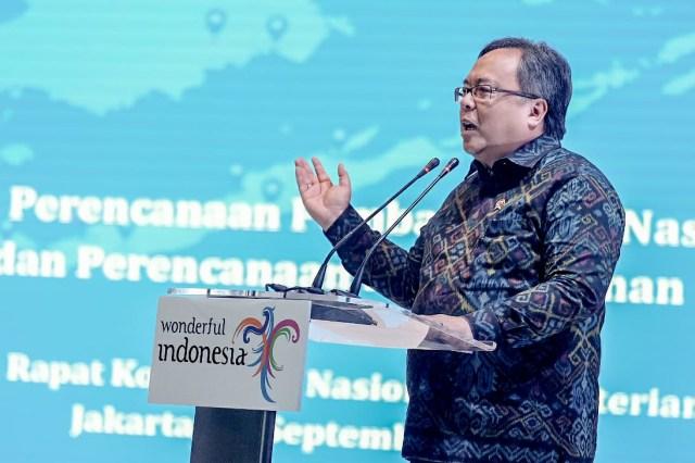 Menteri Perencanaan Pembangunan Nasional Indonesia Bambang Brodjonegoro