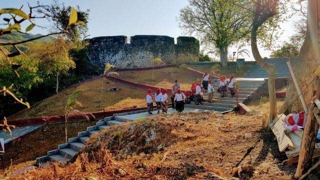Foto: Wisata Sejarah Benteng Otanaha di Gorontalo (8361)
