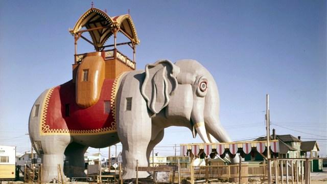 Lucy the Elephant, Salah Satu Bangunan Tertua di AS (345764)