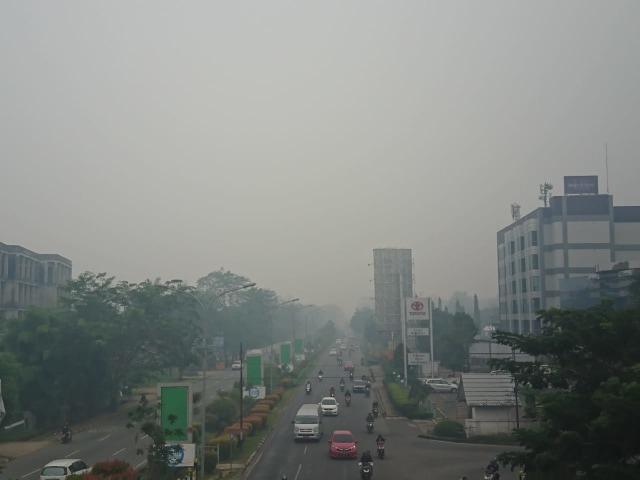 Kabut Asap Siswa Paud Hingga Smp Di Pontianak Diliburkan 2