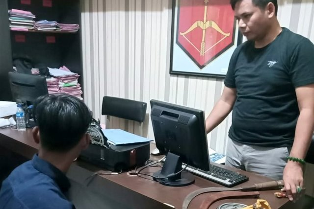 Tawuran Antarkelompok Remaja di Kota Tegal, 5 Ditangkap  (127849)
